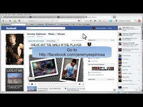 Tutorial 2: Facebook and  Bandpage Customization
