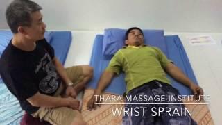 Wrist sprain