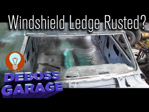 Windshield Ledge Replacement