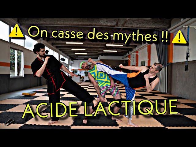⚠ L'acide lactique en PLS ! ⚠ On casse des mythes (avec Didier Reiss)