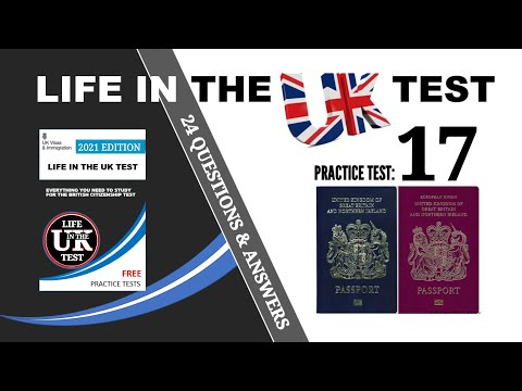 New life in the UK PracticeTest, revision, 3rd edition, pass first time,Test number 17