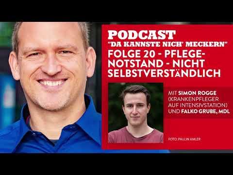 Podcast - Folge 20 - Pflegenotstand #NichtSelbstverständlich (mit Simon Rogge)