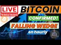 LIVE NOW: BITCOIN TECHNICAL ANALYSIS / BEARISH PATTERN CONFIRMATION!??  ALDRIN RABINO