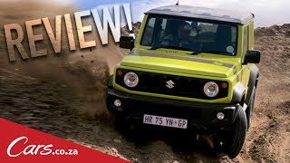 We Tackle a Motocross Course in the New Suzuki Jimny