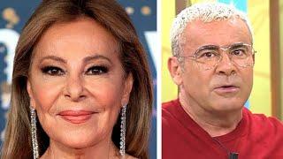 La gran humillación de Ana Obregón a Jorge Javier Vázquez  por Rocío Carrasco y Alessandro Lequio