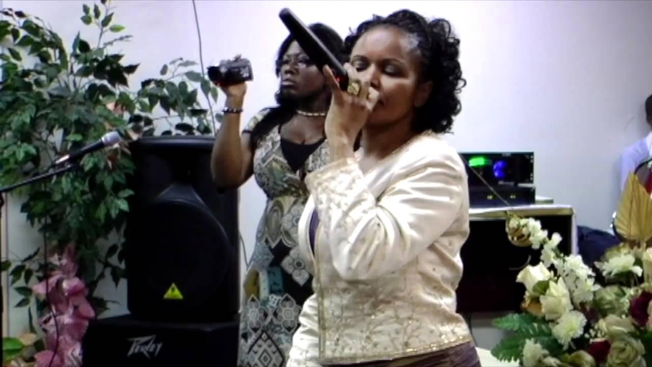 "Haitian Gospel Music singer ""Rossignol D'orlando"" - YouTube"