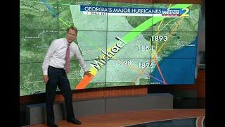 Georgia hurricane history