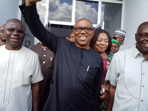PETER OBI VISITS GOVERNOR IFEANYI UGWUANYI OF ENUGU STATE- CITYPOST TV