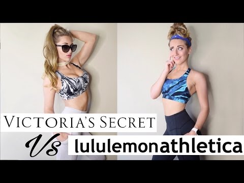 Victoria's Secret Activewear VS Lululemon // Try On In Depth Review