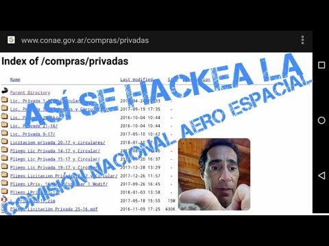 [HACKING ÉTICO UDEMY 3] Clase 7 - Hackeo mediante Google (Listado de directorios)