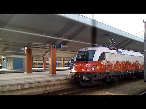 EU44-004 z IC Chopin   Kraków Główny