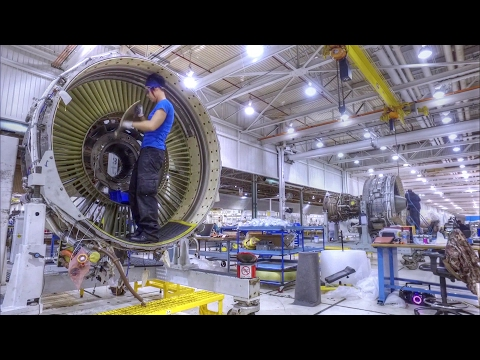 Mechanics Tinkering with Aircraft at Tinker Air Force Base