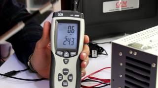 DT 8880 Rüzgar Hızı ölçer ( Anemometre ) Tanıtımı
