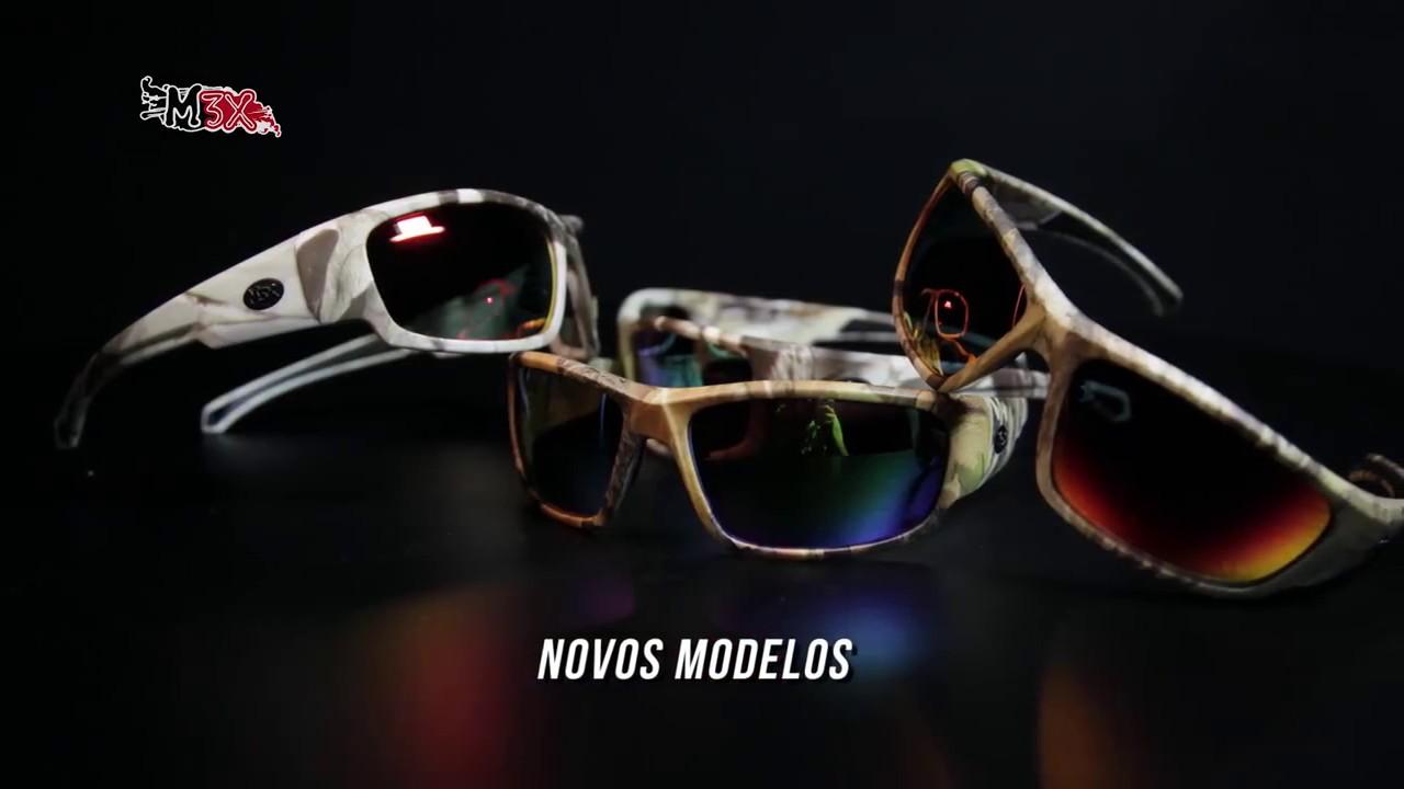 Óculos Polarizado Amazon e River Monster 3X - YouTube 406b2c1011