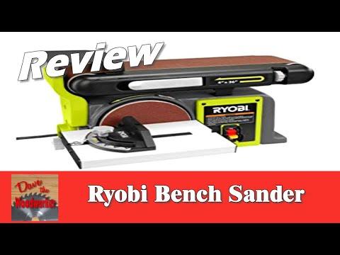 Ryobi Bench Sander Review