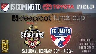 San Antonio Scorpions vs FC Dallas