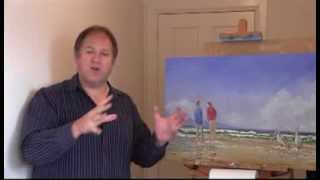 Online Art Class - Painting Seascapes - Level 1 #MooreMethod