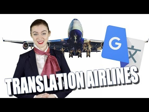 Google Translate Gives Airplane Safety Instructions