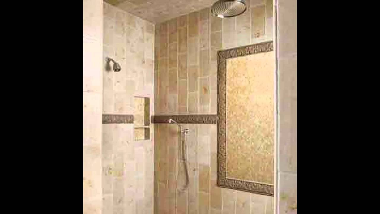 simple bathroom shower tiles ideas youtube