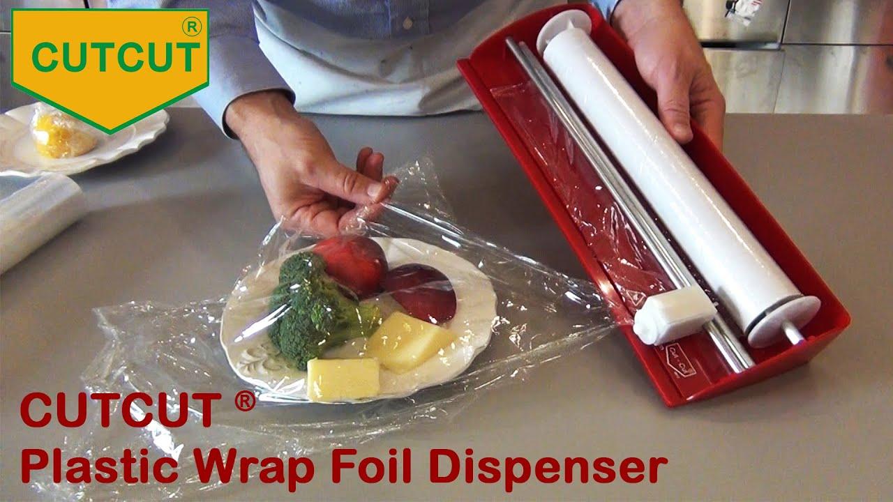 the cutcut invention wrap film dispenser youtube. Black Bedroom Furniture Sets. Home Design Ideas