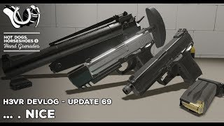 H3VR Early Access Update 69... . Nice! USP Tactical/Match, H69A1, Vault Upgrades
