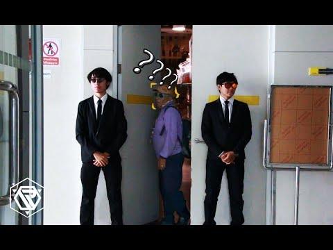 แกล้งเป็นบอดี้การ์ด (Bodyguard Prank) RAMER EP.26