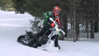 Arctic Cat SVX 450 Snowbike