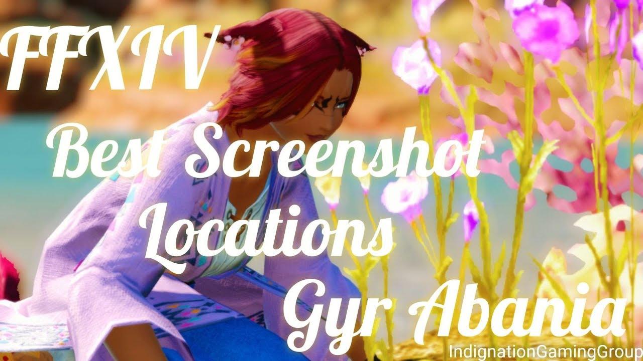 FFXIV Best Screenshot and /gpose Locations in Gyr Abania