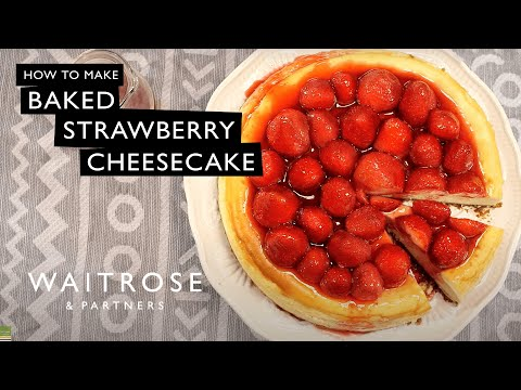 Baked Strawberry Cheesecake | Waitrose