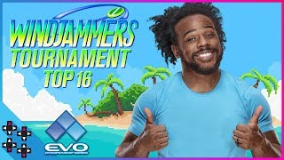 Windjammers Flying Power League Top 16 at EVO 2018