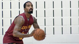 J.R. Smith on being a 'gunslinger' and Cavs losing