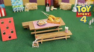 TINY CARNIVAL FOOD with Your Favorite Toy Story 4 Characters | Tiny Kitchen