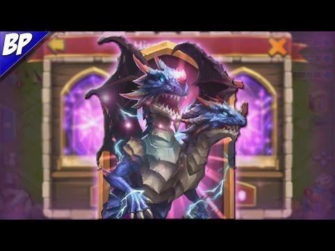 Castle Clash Rolling For Demogorgon (Thunder Dragon!)