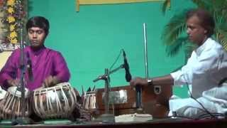 Tabla solo: Rupak Bhattacharya playing Guru Gyanprakash Ghosh ji