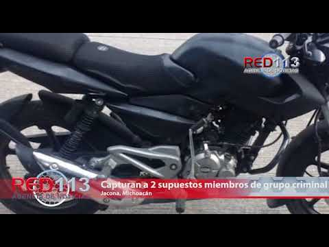 VIDEO Capturan a dos supuestos miembros de grupo criminal jalisciense, están implicados con un atentado en Jacona