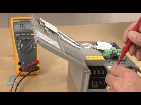 Ac Disconnect Wiring Diagram Repair Telemecanique Altivar 31 Ac Drive Youtube
