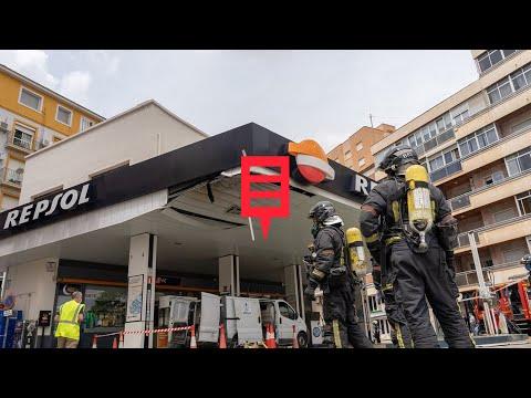 Un herido crítico y otro grave por una explosión en una gasolinera de Cartagena