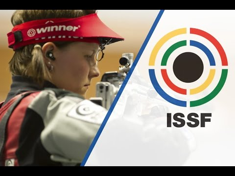 Finals 50m Rifle 3 Positions Women - 2015 ISSF World Cup Final in Rifle and Pistol in Munich