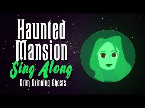 Sing Along Disneyland Haunted Mansion