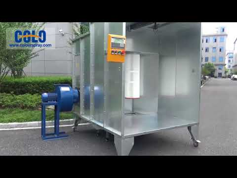 1517 Powder Spray Booth