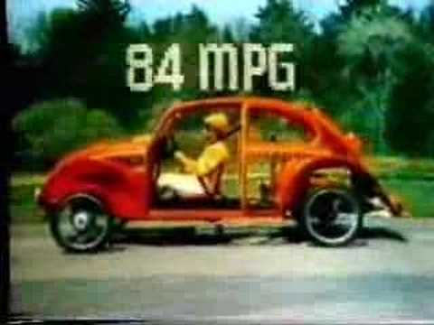 Famous Beetle Honest 25 Mpg Commercial