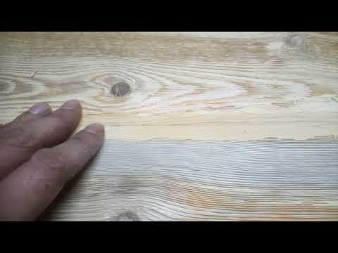 Барный столик из лиственницы
