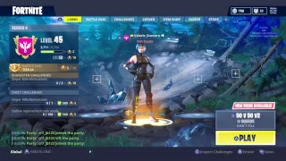 FORTNITE SQUAD TRYING TO GET A WIN  GAME PLAY PS4]