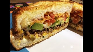 Nacho Cheese Sandwich Recipe - Twist on a Mexican Dish! - Episode #265