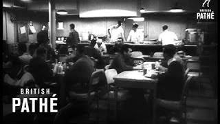 Texas Tower Radar Station Sinks In Storm (1961)