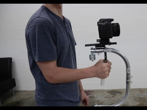 "DIY DSLR Steadicam ""Silver Flyer"" Stabilizer"