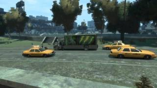 GTA IV mods ö-Stitch IV-ö Delivery Vans & Taxi Adds