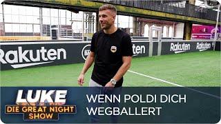 Luke vs. Lukas: Wenn Podolski dich fertig macht | Luke vs. Köln | LUKE! Die Greatnightshow
