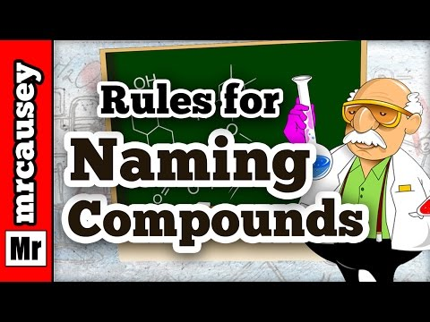 How to Name Ionic and Covalent Molecular Compounds - Mr. Causey's Chemistry