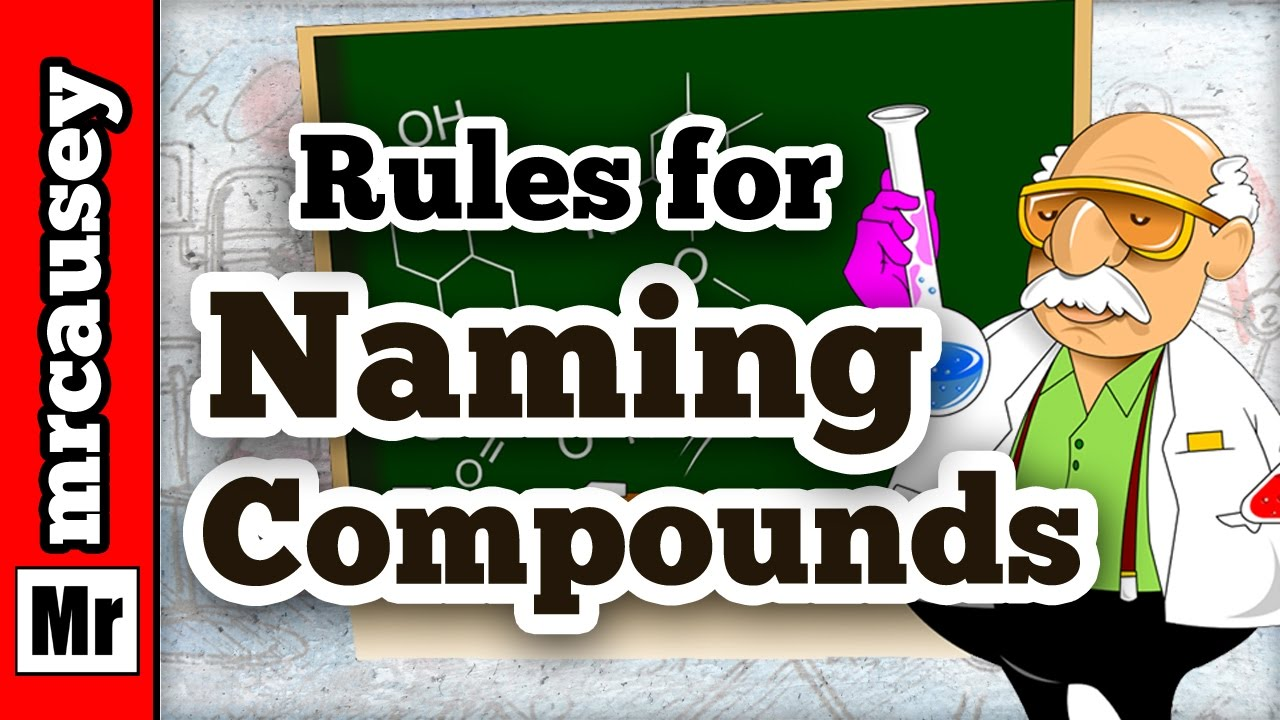 Naming Compounds In Chemistry Youtube